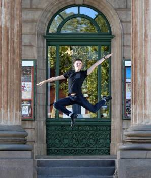 BACK TO IT: Bendigo's Charlie Munday will return back to America to work as a professional theatre performer. Picture: GLENN DANIELS