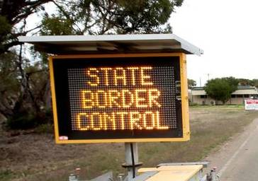 The border between NSW and Victoria will close this week.