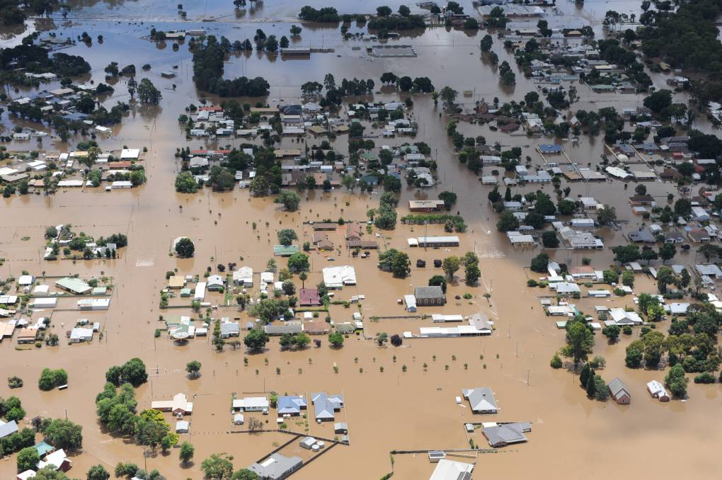 REMEMBERING: Flooding in central Victoria in 2011.