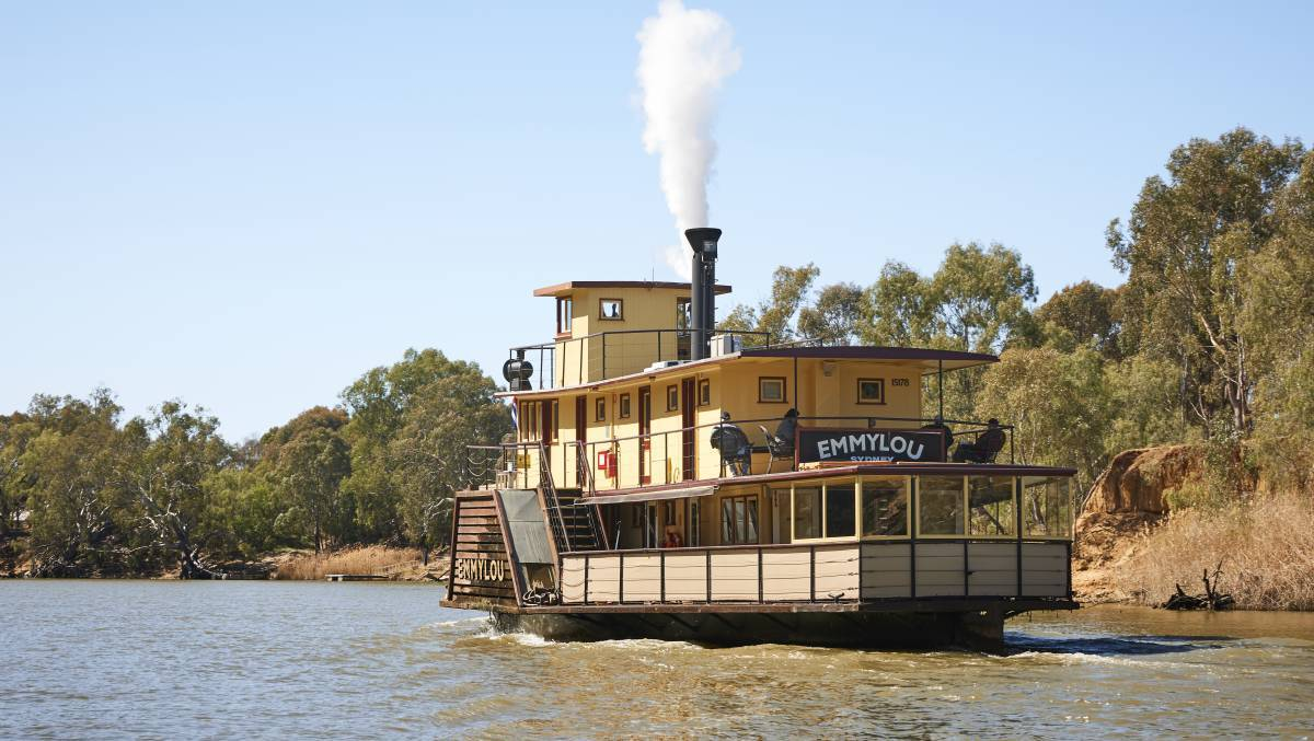 Murray River Paddlesteamers says people have been making day trips to Echuca Moama. Picture: MURRAY RIVER PADDLESTEAMERS