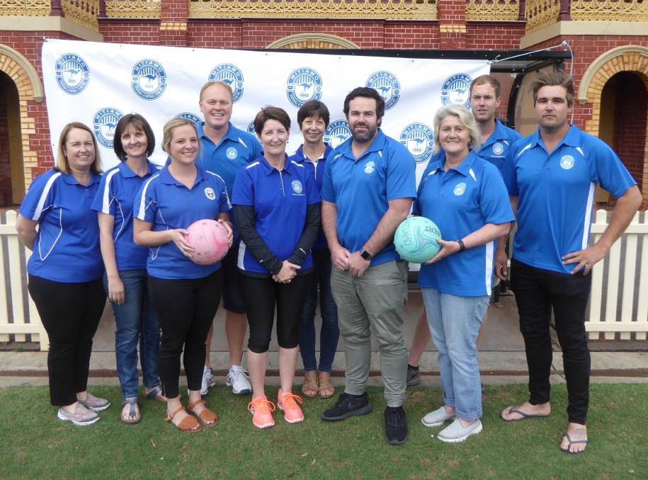 SUPEROOS LEADERS: Mitiamo's football and netball coaching panel for 2018 - Rachel Hay, Michelle Diss, Jenna Guy, Sam Daykin, Kylie Piercy, Glenda Thomas, Andy Grant, Jenny Clohesy, Liam Clohesy and Ben Bacon.
