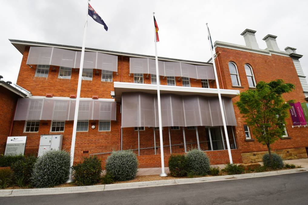 The Mount Alexander Shire's main offices in Castlemaine. Picture: DARREN HOWE