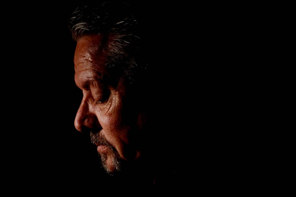 Rodney Carter is a Dja Dja Wurrung man hoping Ancestors' remains can one day return to Country. Picture: DARREN HOWE