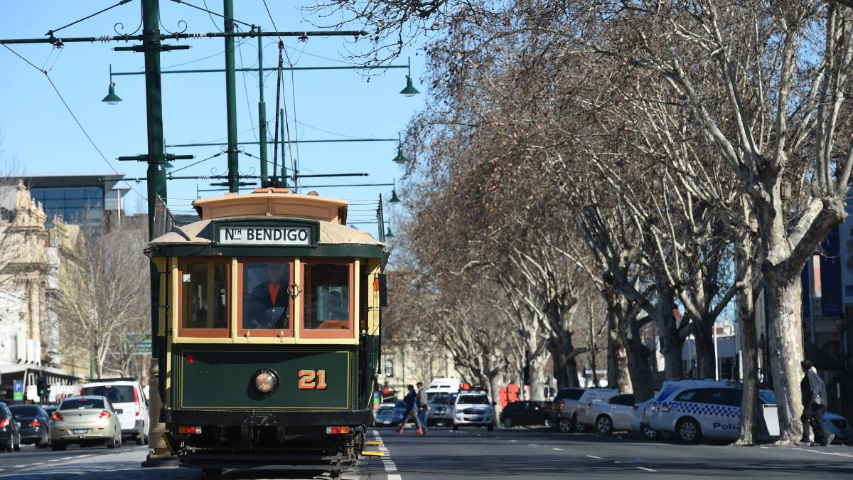 Commuter and public transport trams not viable in Bendigo city