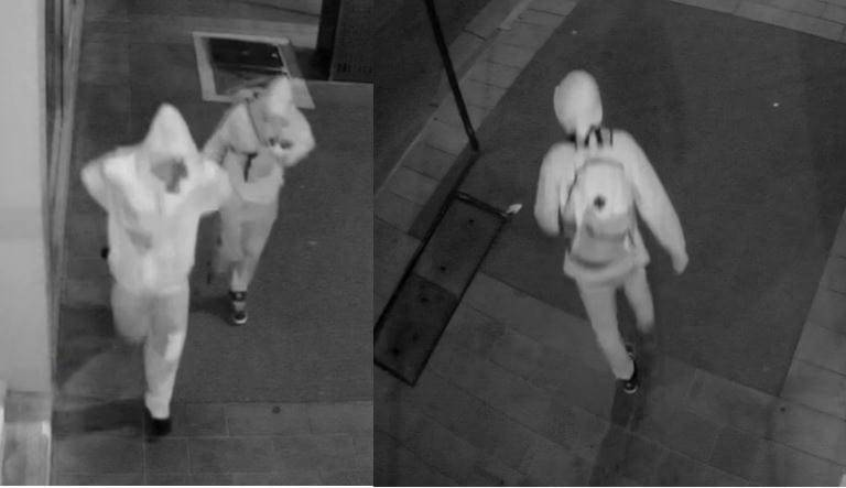 Images of the two men police would like to speak with. Picture: Victoria Police