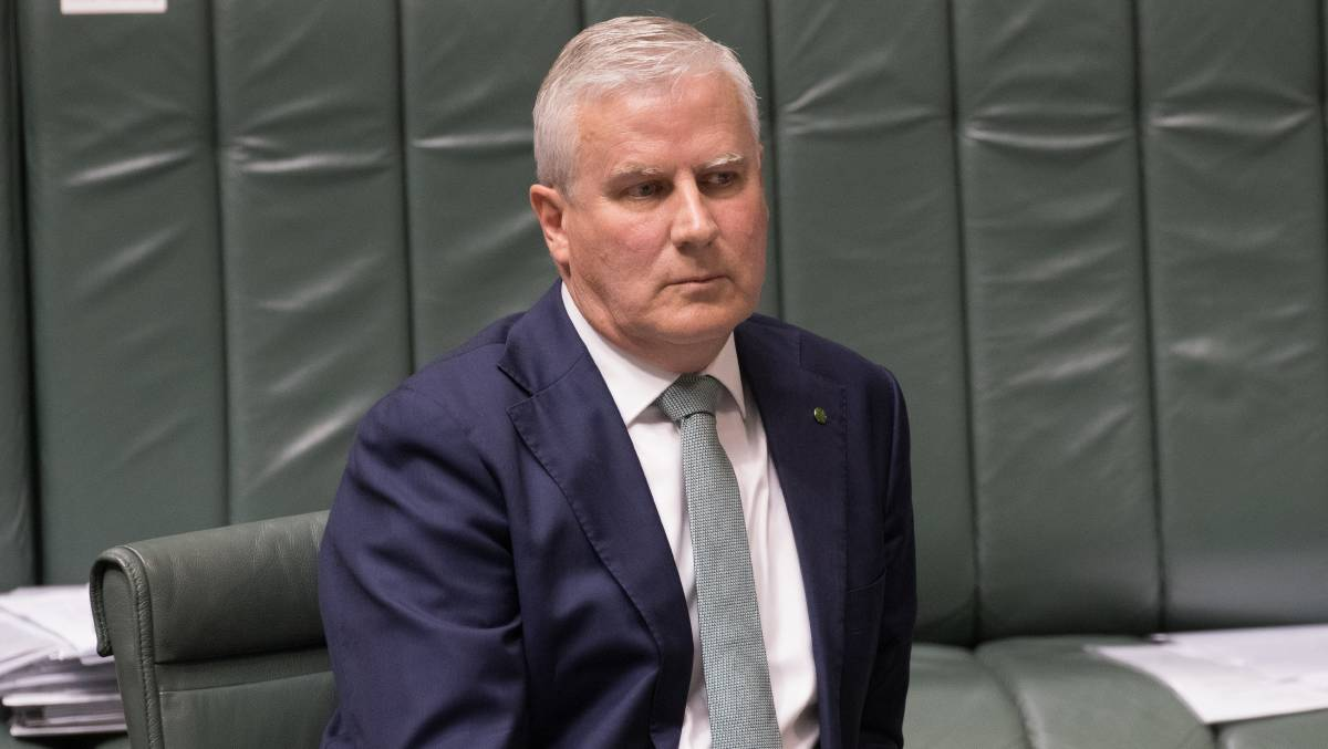 Deputy Prime Minister Michael McCormack. Picture: Sitthixay Ditthavong