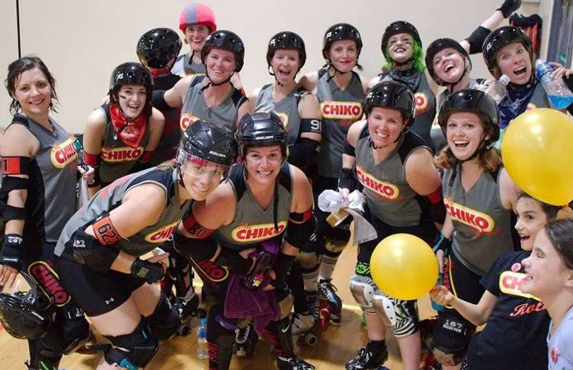 READY TO ROLL: The Chiko Rollers will make their presence felt at the Great Southern Slam in Adelaide over the Queen's Birthday long weekend.