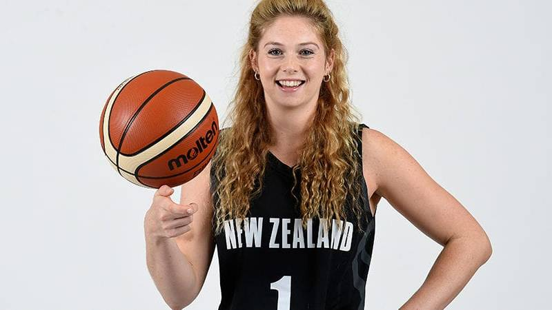 Mary Goulding. Picture: BASKETBALL NZ