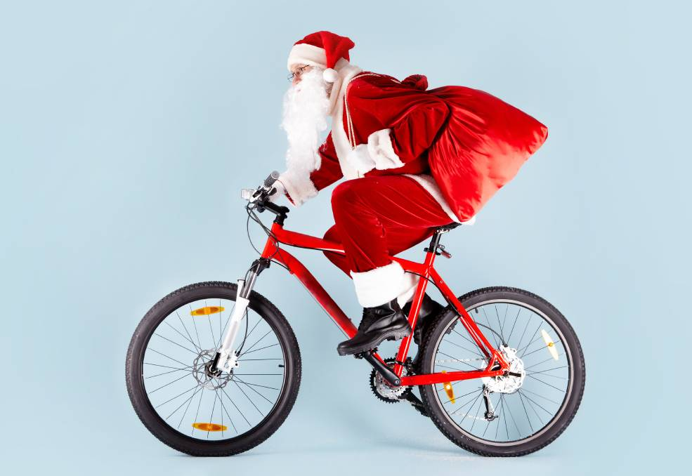 SANTA TIME: The coronavirus pandemic triggered a surge in demand for bicycles in Bendigo. Picture: Supplied