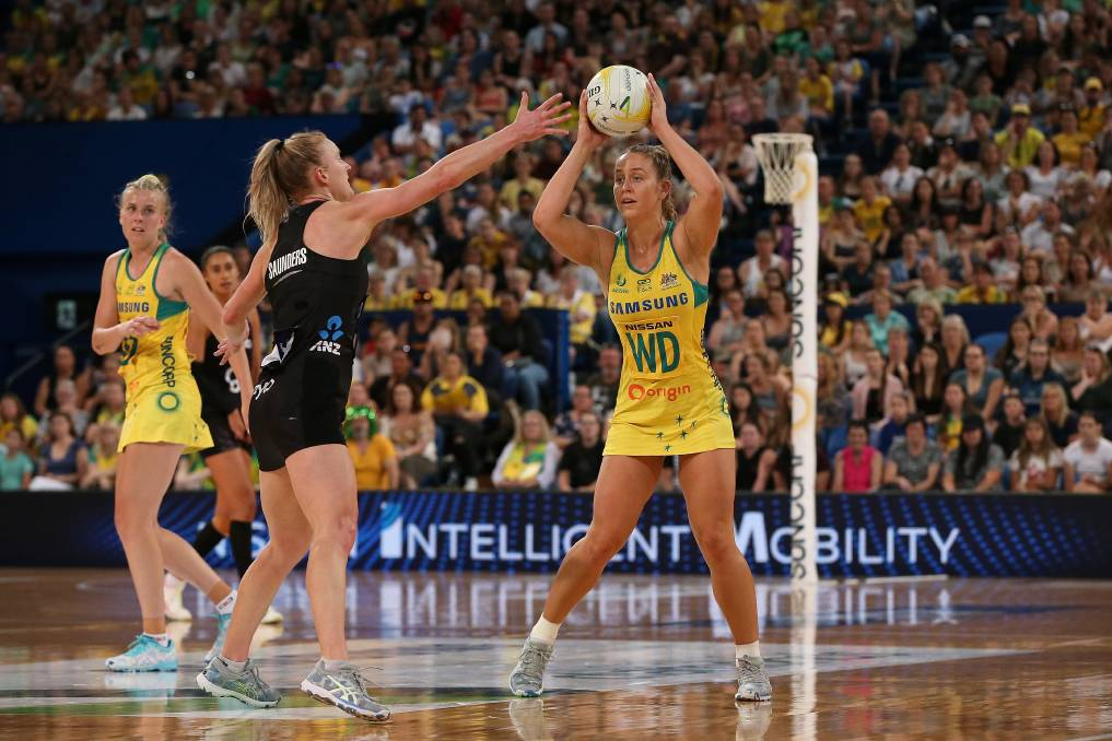 Jamie-Lee Price has welcomed the Diamonds' new leadership approach. Picture: Getty