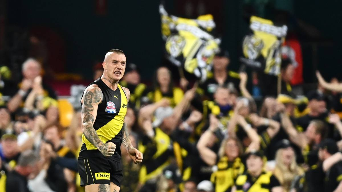 History-making Dusty delivers Tigers another flag
