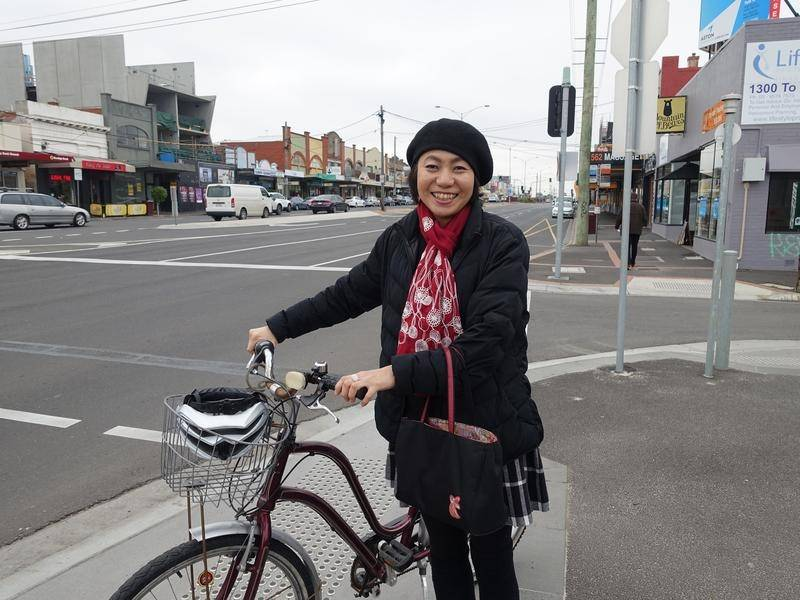 Yoshi is one of the lucky Melbourne women who were able to get accommodation through the YWCA.
