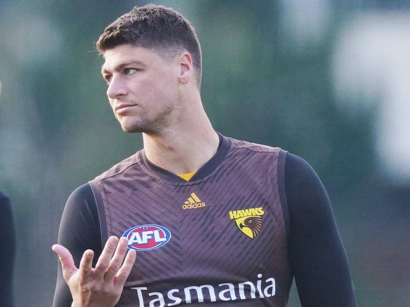 Hawthorn have confirmed Jonathon Patton is in hospital receiving mental health treatment.