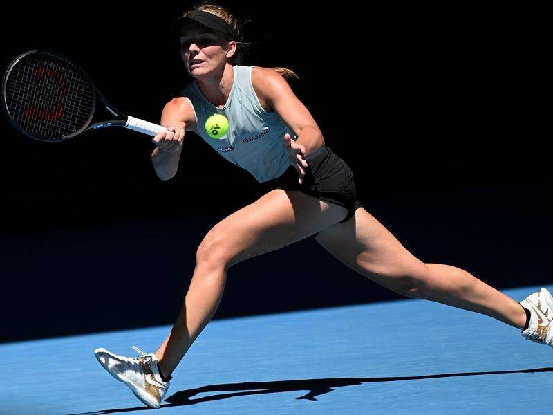 Maddison Inglis came from a set down to beat veteran Samantha Stosur at the Adelaide International.