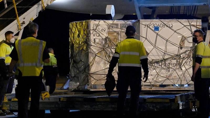 Moderna arrives amid Vic protest warning
