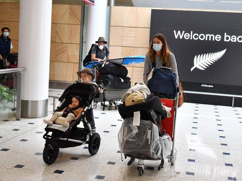 Australia has greeted its first quarantine-free visitors in seven months with arrivals from NZ.