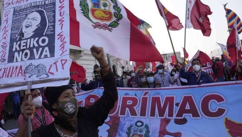 Protests in Peru as election result drags   Bendigo ...