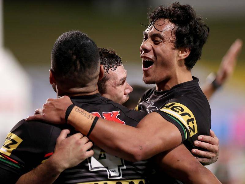 Jarome Luai is unconcerned by the expectations on Penrith's younger NRL stars.