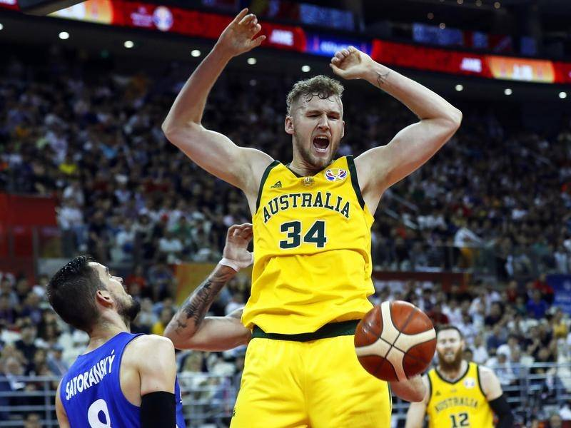 NBA hopeful Jock Landale has been in outstanding form for Melbourne United in the NBL pre-season.