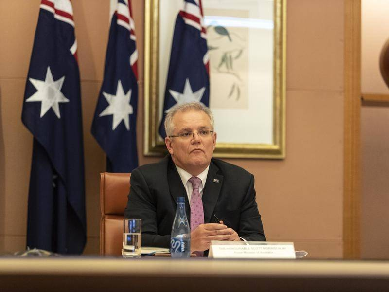 Scott Morrison has met with other G20 leaders in a special online summit to deal with coronavirus.
