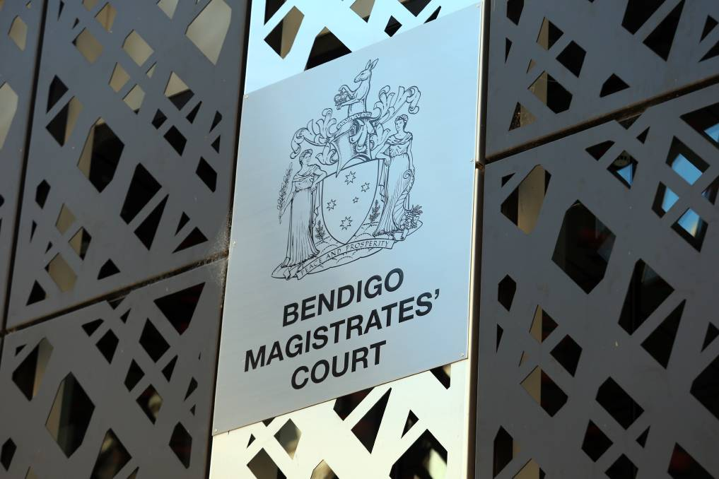 Bendigo Magistrates' Court. Picture: GLENN DANIELS