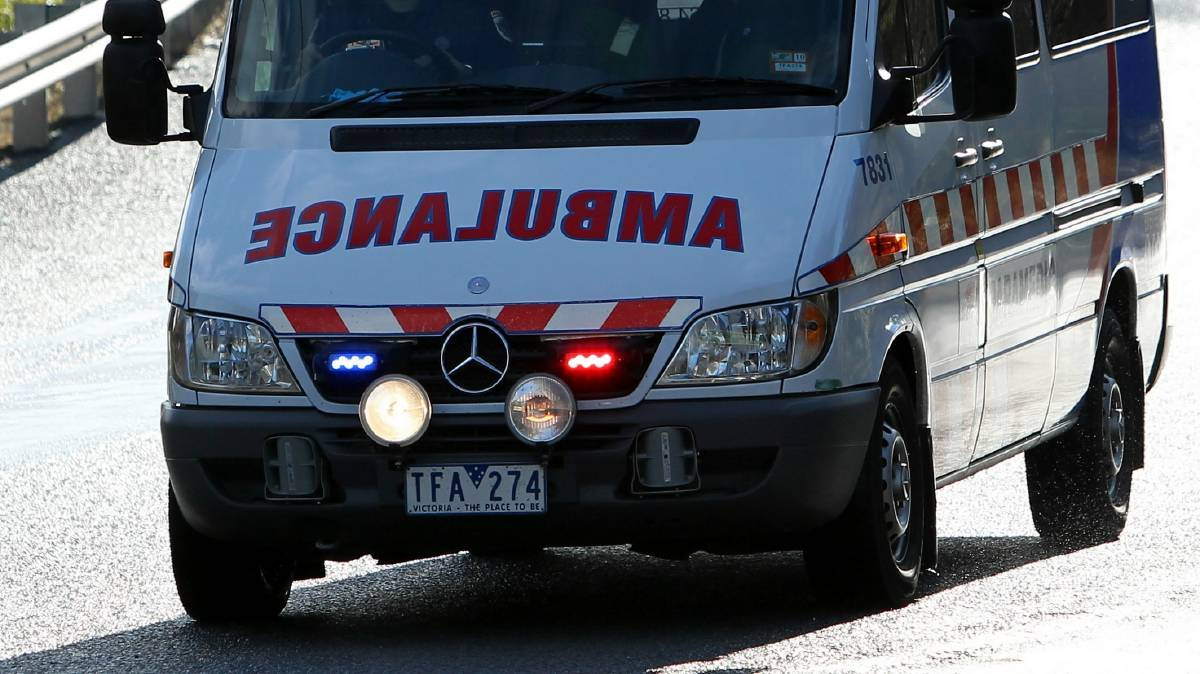 Man hospitalised after stove top catches fire in Eaglehawk