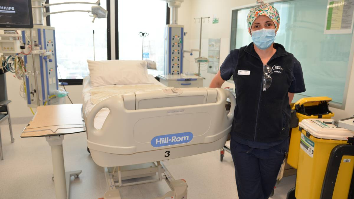 Critical care nurse Karla Mulready has intubated and treated COVID-19 patients. Picture: supplied