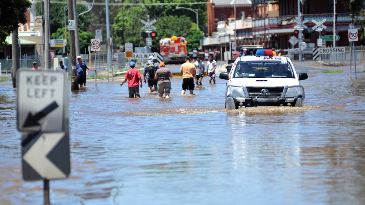 Rochester floods in 2011. Picture: file